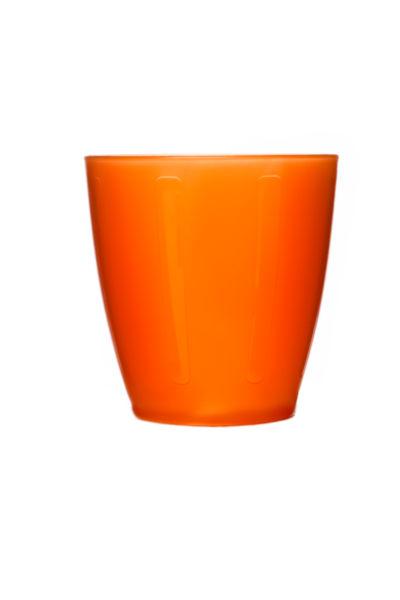 400x600 Orange Plastic Cup