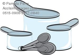 300x210 Art Illustration Of Plastic Measuring Cups