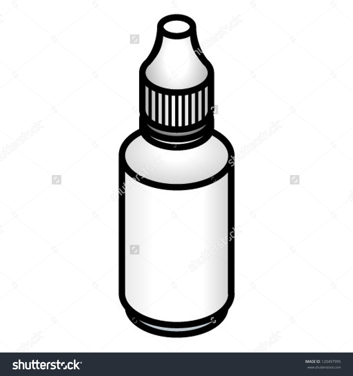 1500x1600 Small Bottle Clipart