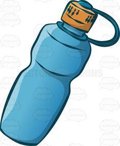 236x288 Blue Water Clipart Sports Bottle