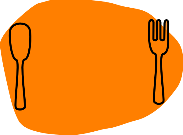 600x442 Dinner Plate Clip Art