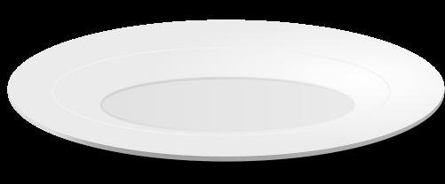501x208 Free White Plate Clip Art