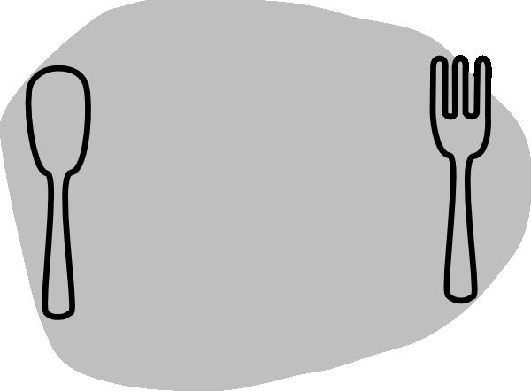 600x442 Plate Clip Art