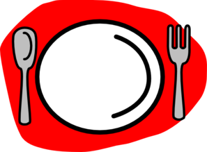 297x219 Spoon Plate Fork Clip Art