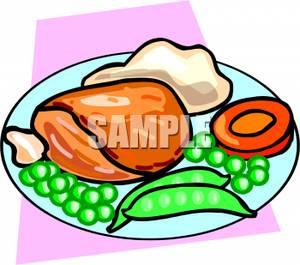 300x265 Art Image A Dinner Plate