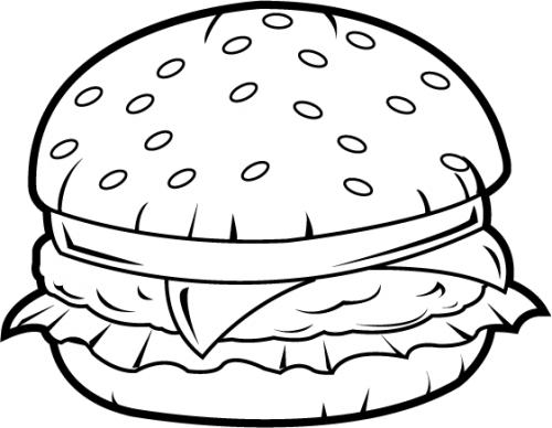 500x388 Clipart Plate Of Food