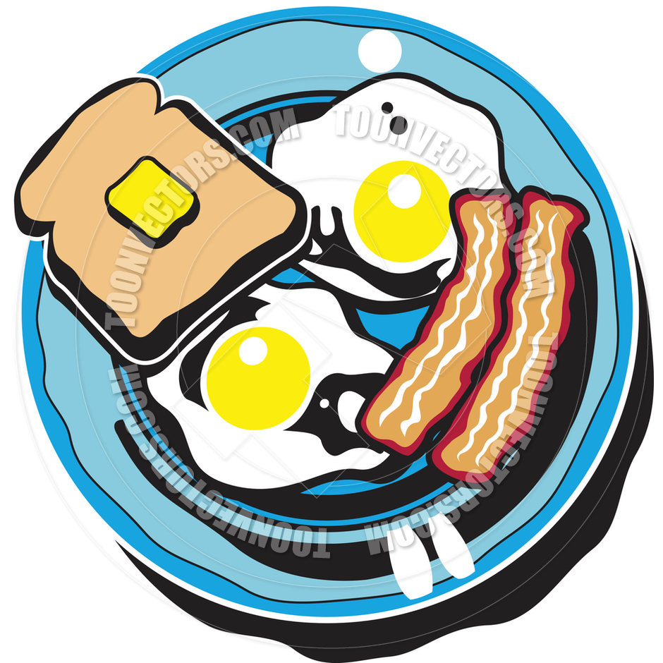 940x940 Dinner Plate With Food Clipart