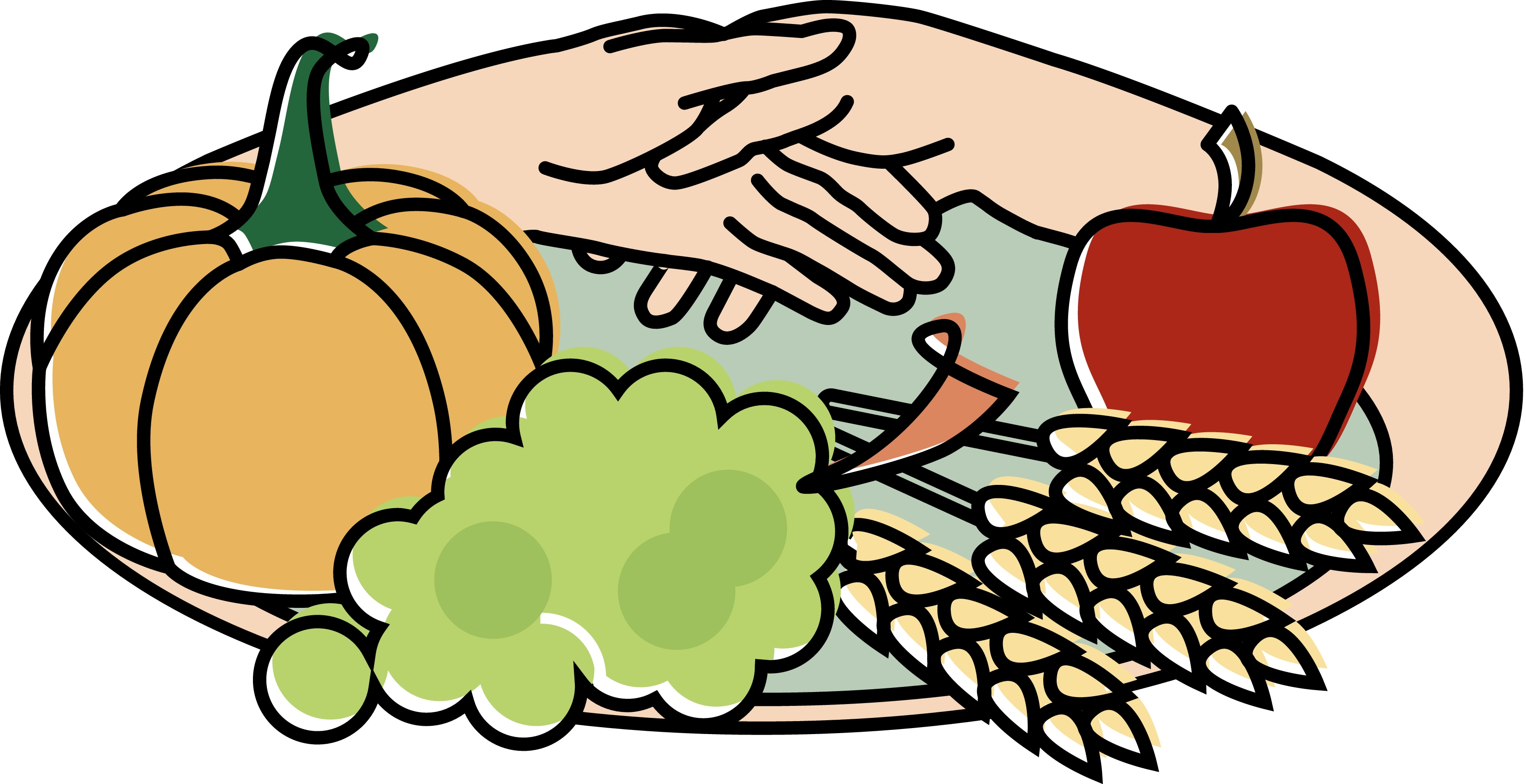 3300x1696 Plate Of Food Clipart
