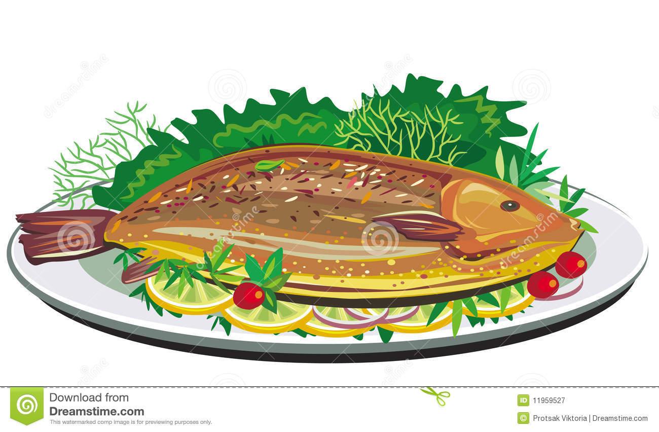 1300x852 Salmon Clipart Fish Dinner