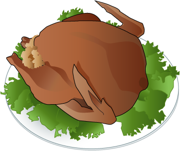 362x303 Free Clipart Plate Of Food