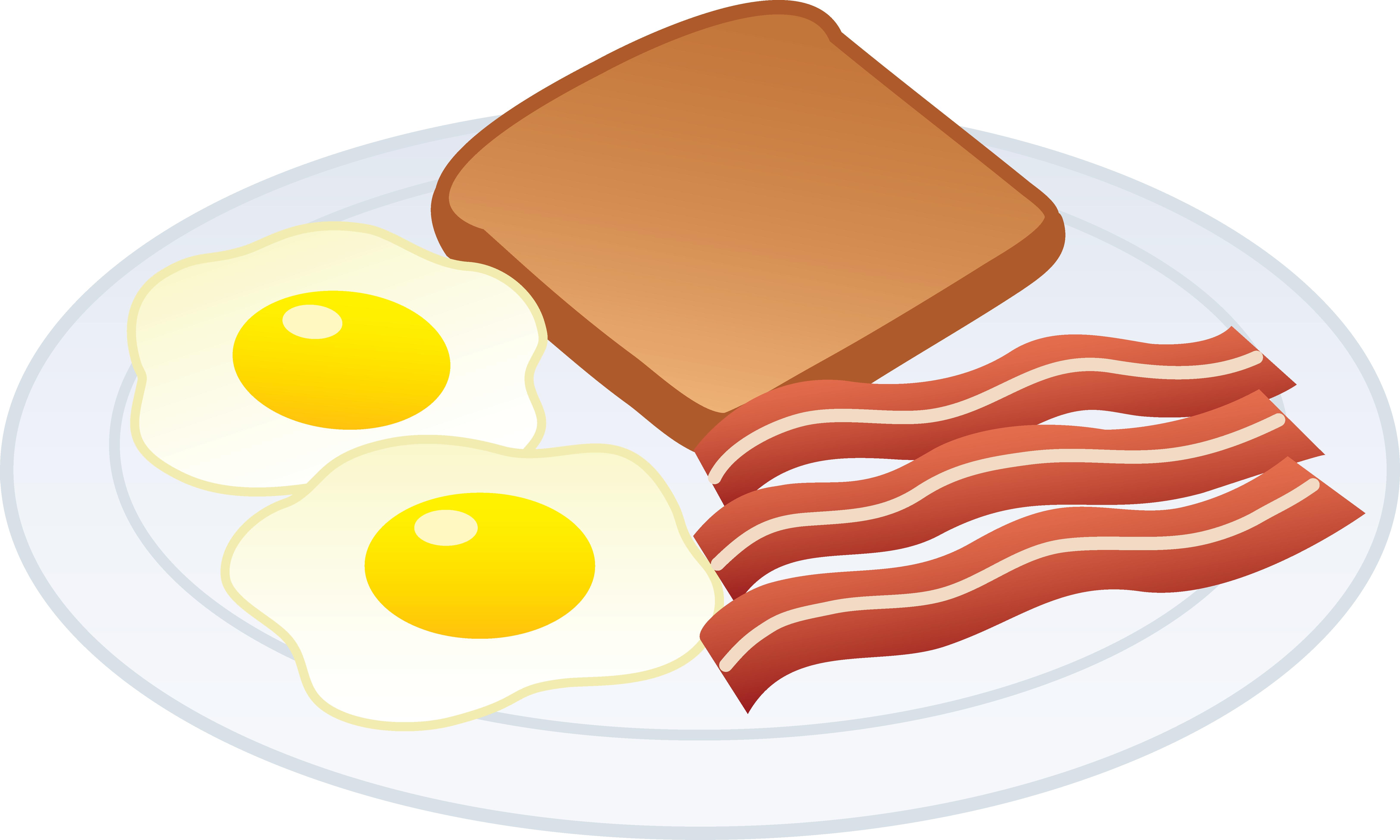 6494x3898 Breakfast Clipart Food Free