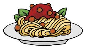 281x160 Meatball Clipart Plate Spaghetti