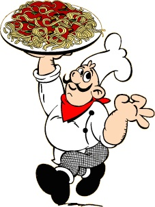 227x302 Spaghetti Clipart