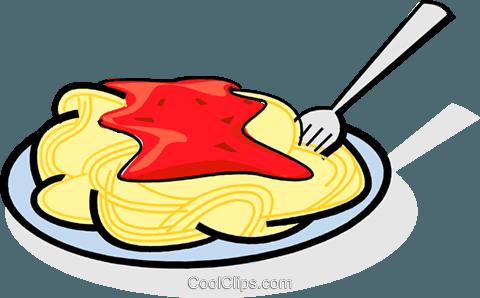 480x298 Spaghetti Clipart Vector