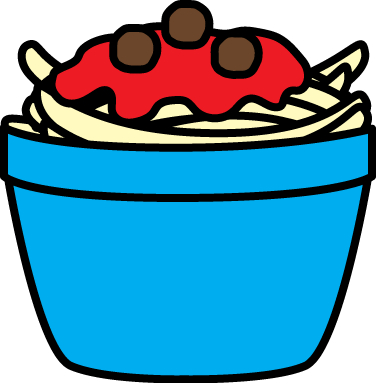 376x383 Bowl Of Spaghetti Clip Art