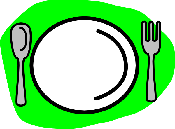 600x442 Knife And Fork Images About Crockery On Plates Vintage Clip Art