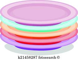 252x194 Stack Plates Clipart And Illustration. 514 Stack Plates Clip Art