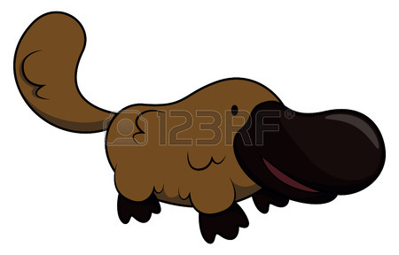 450x288 Fun Zoo Illustration Of Cute Cartoon Platypus And Australia