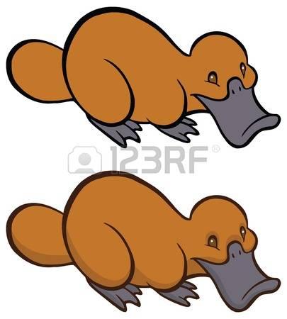 405x450 Top 70 Platypus Clip Art