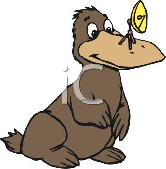 342x350 Top 70 Platypus Clip Art