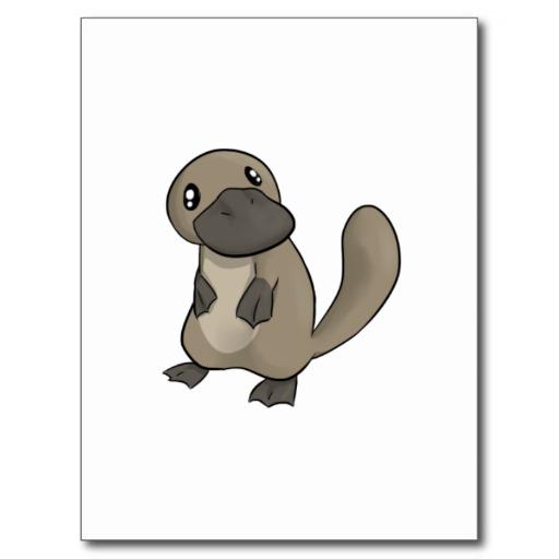 512x512 Cartoon Platypus Free Download Clip Art On 3