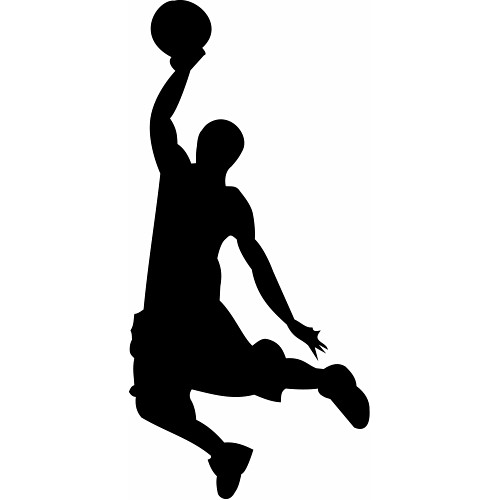 500x500 Clipart Basketball Player 2