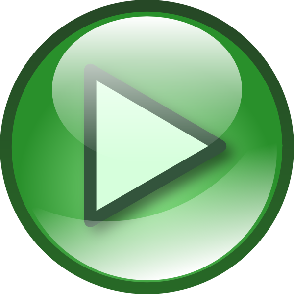 600x599 Play Audio Button Set Clip Art