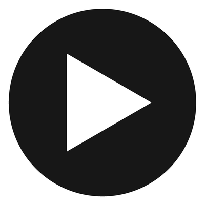 400x400 Play Black Button Transparent Png