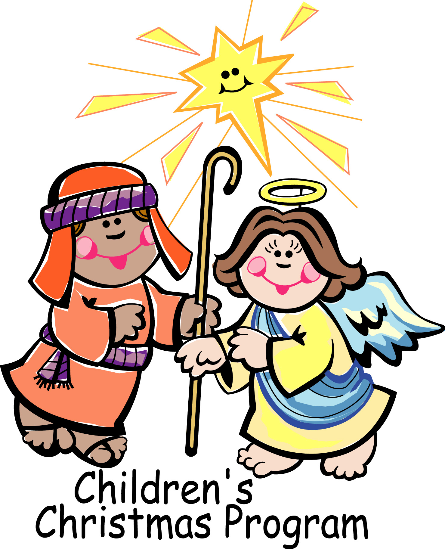 1479x1824 Children Christmas Play Clipart