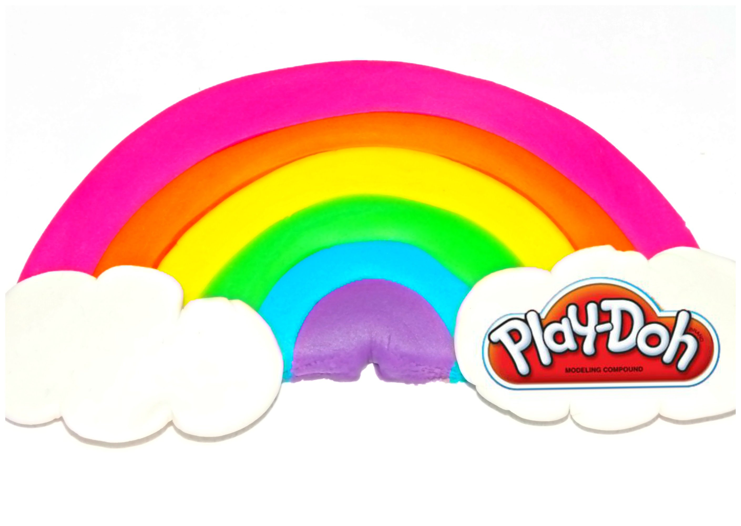 2819x2000 How To Make Play Doh Rainbow Easy