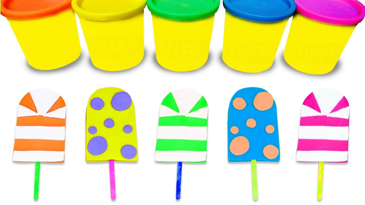 1280x720 How To Make Play Dough Ice Cream Learn Colors Surprise Toys