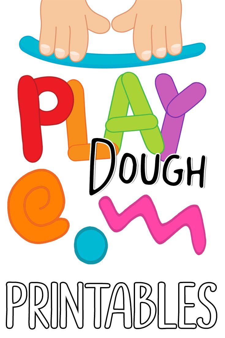 735x1102 Letter Clipart Play Dough