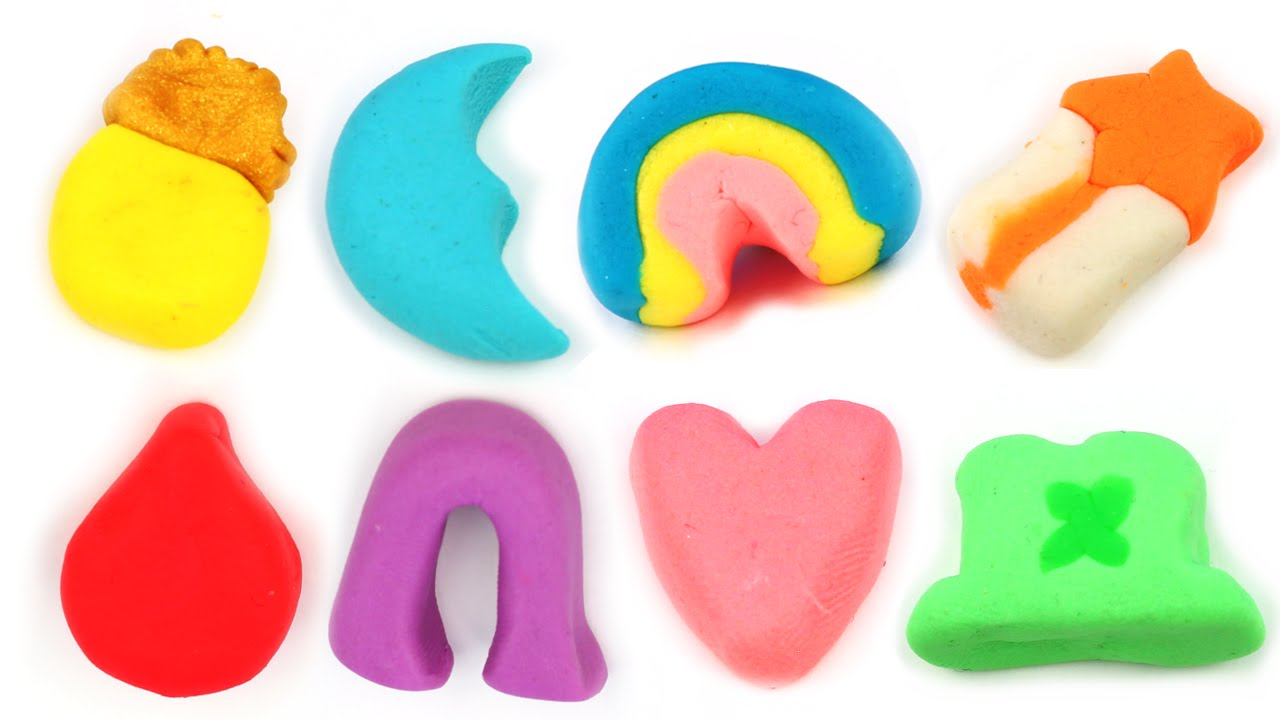 1280x720 Lucky Charms All Marshmallows Made With Play Doh Clay