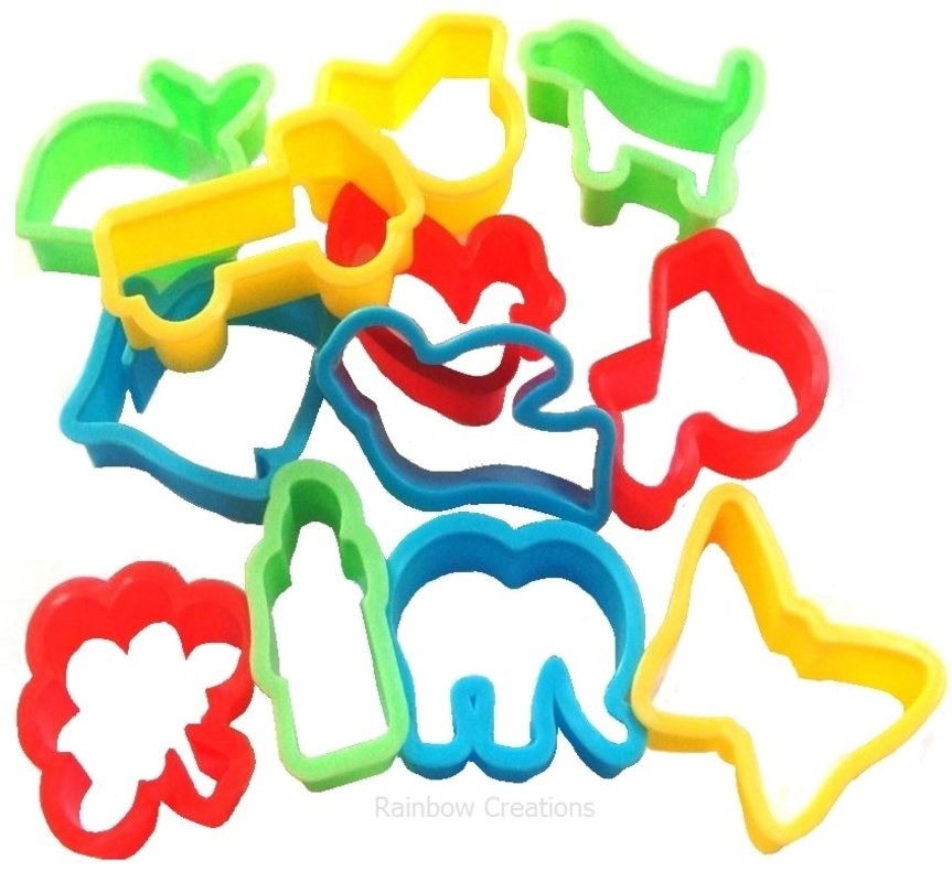 863x800 Set Of Small Play Dough Cutters Model Making Modelling