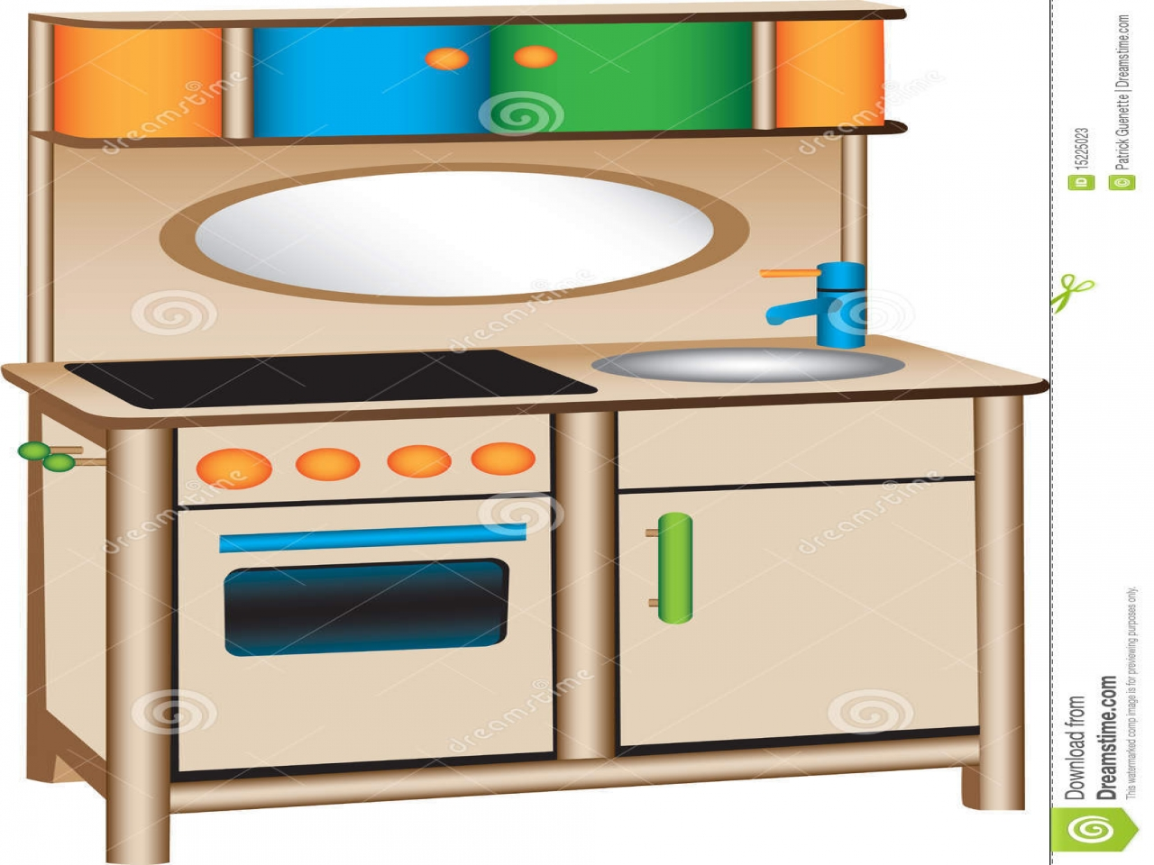 1280x960 Area Clipart Kitchen Play