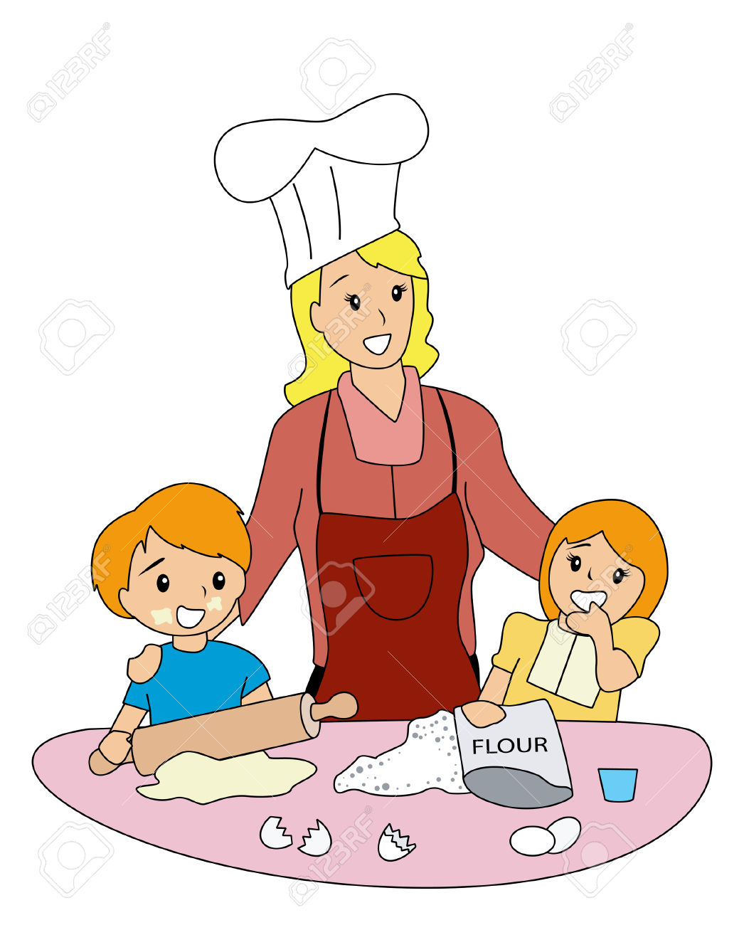 1046x1300 Baking Clipart Kitchen Play
