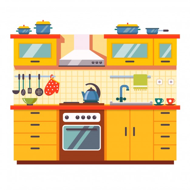 Kitchen Cabinet Clip Art: Free Download Best Play Kitchen