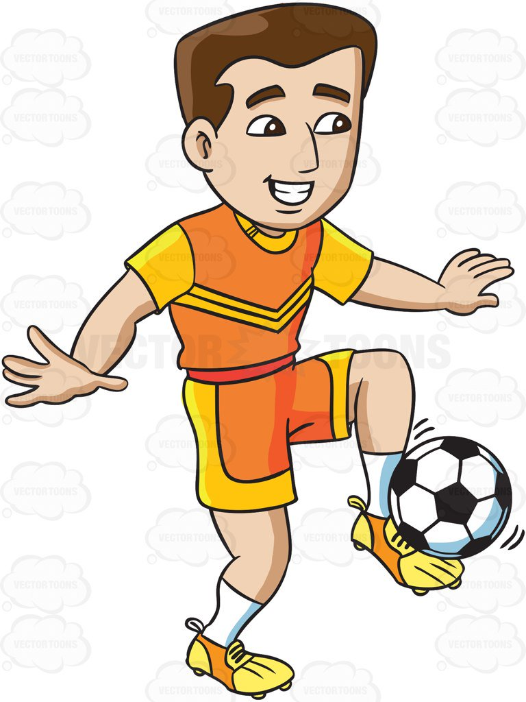 Play Soccer Clipart