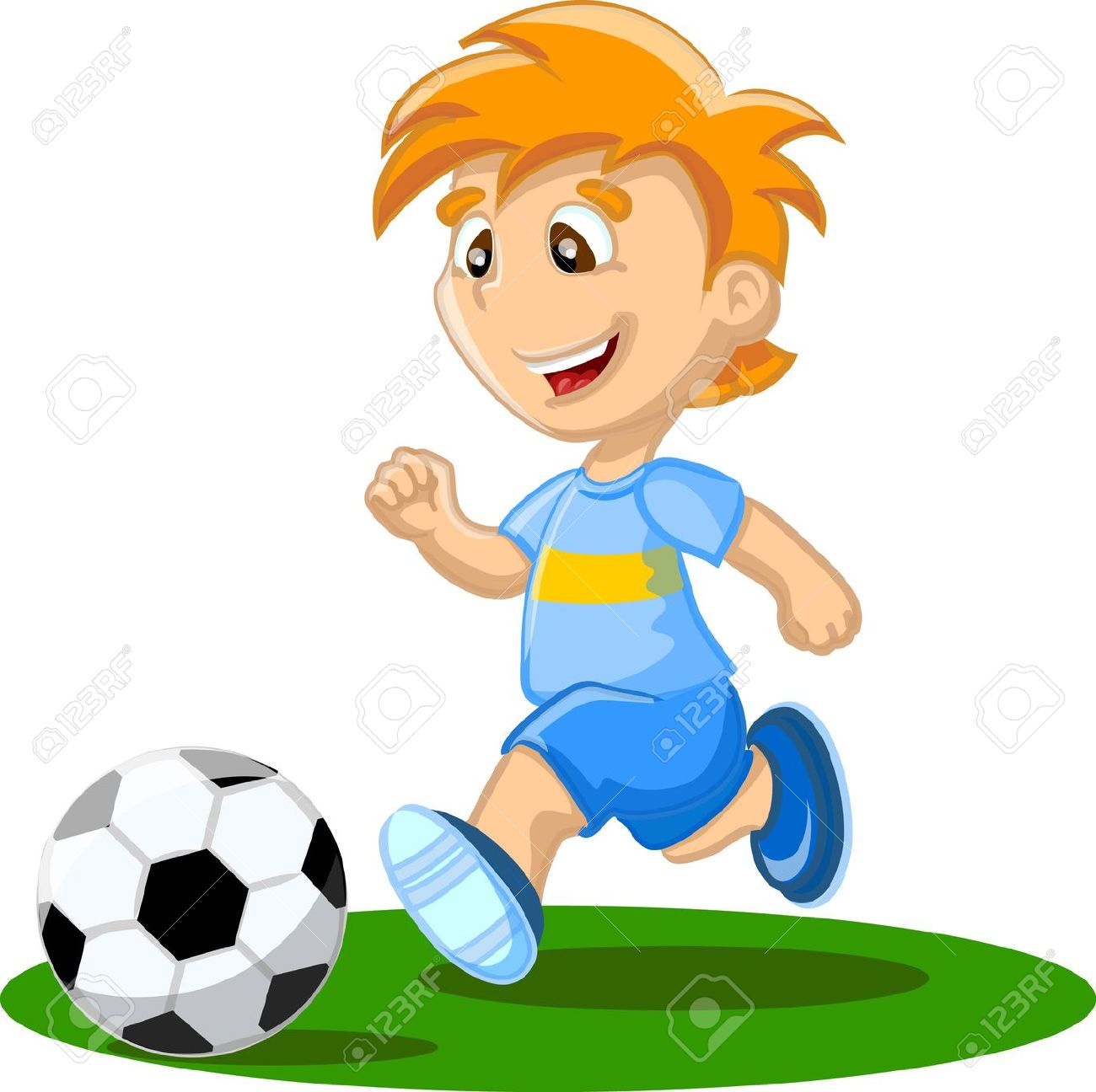 1300x1296 Football Cartoon Cliparts 210806
