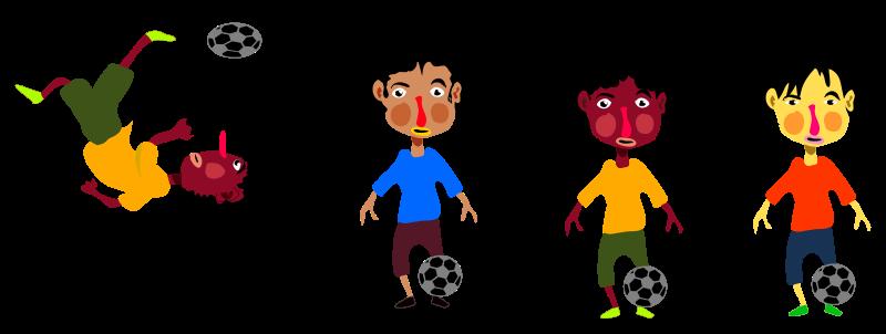 800x302 Soccer Clip Art Download