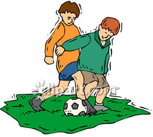 300x269 Boys Playing Soccer