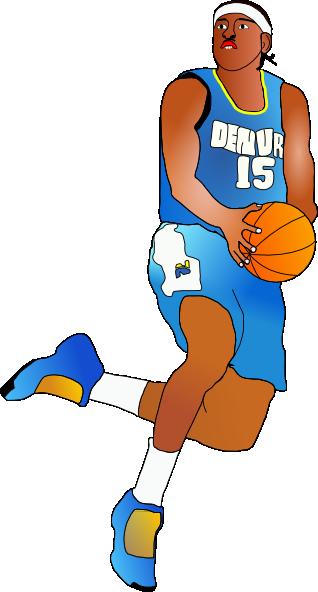318x592 Basketball Player Clip Art