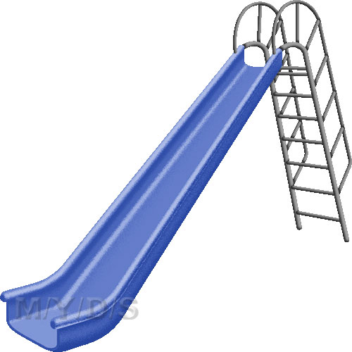 500x500 Playground Slide Clipart