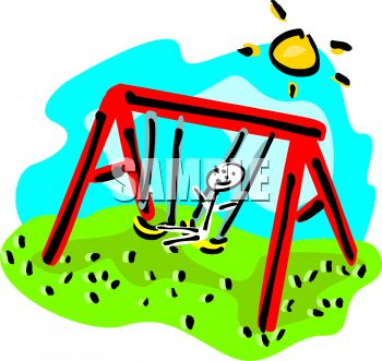 350x331 Playground Clipart Playground Swing