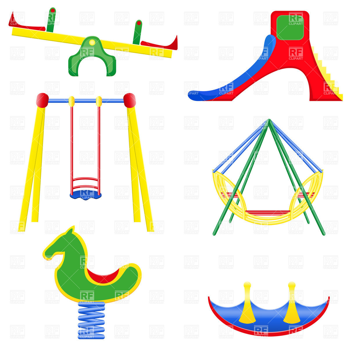 1200x1200 Playground Equipment