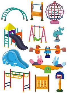 236x327 Play Park Clipart, Playground Clipart, Swings Ride Clp Art, Only