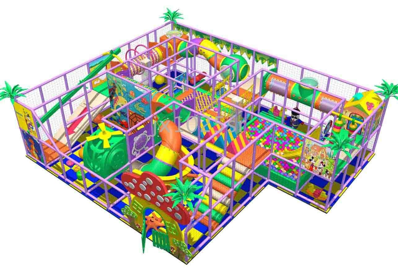 1285x868 Indoor Playground Equipment, Used In Shopping Mall, Kindergarten