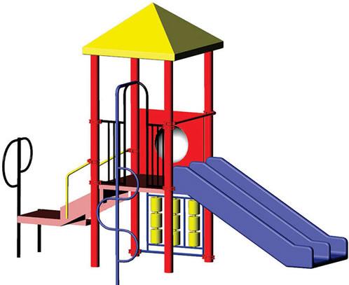 498x407 Play Structure Minnie