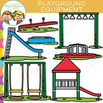 Playground Equipment Clipart