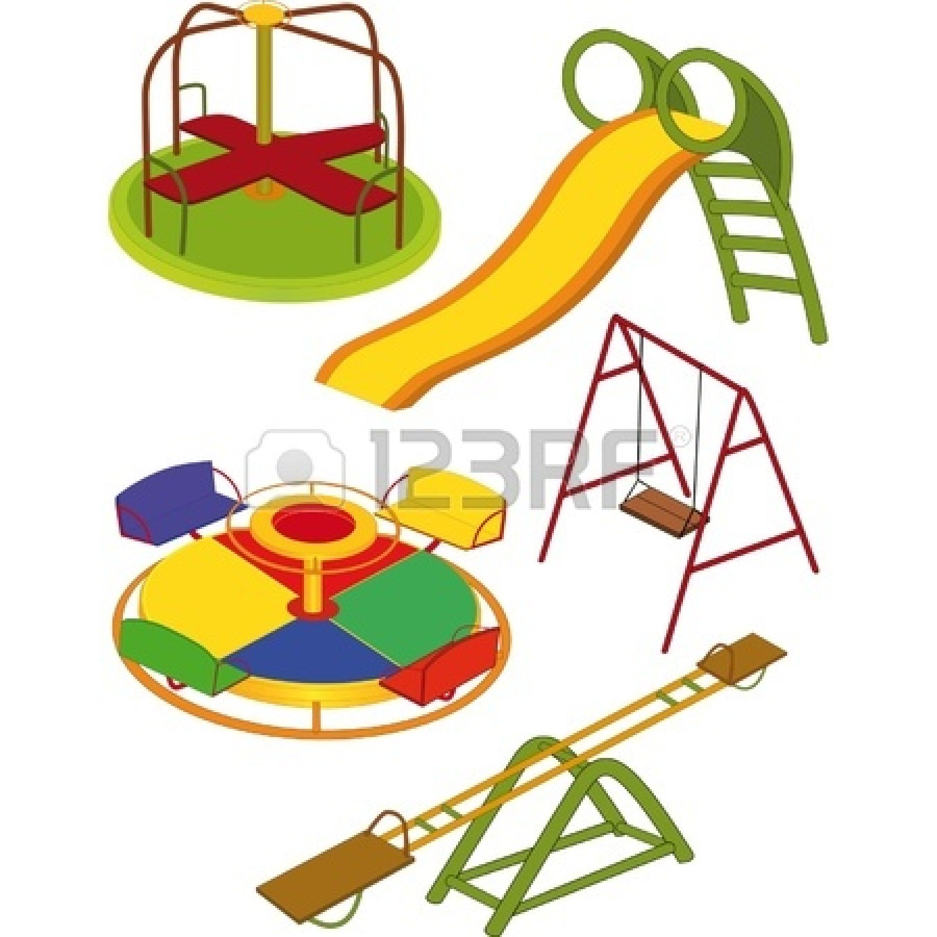 1350x1350 Swing Clipart Parque
